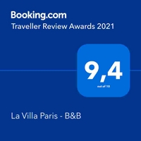 La Villa Paris - Bed and Breakfast in Paris - Better than a Hotel